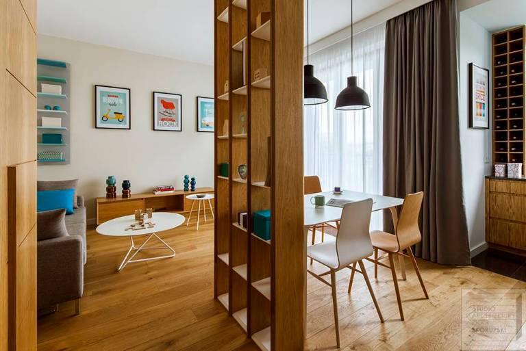 Mobili Divisori Per Soggiorno Ikea.6 Idee Per Dividere Cucina E Soggiorno Esempi Pratici Da Cui Prendere Spunto Glamcasamagazine