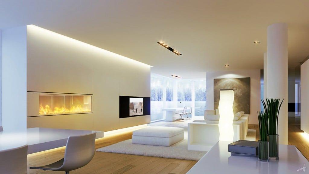 Illuminazione per interni, le strisce led