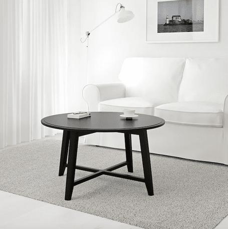 KRAGSTA Tavolino ikea , nero, 90 cm