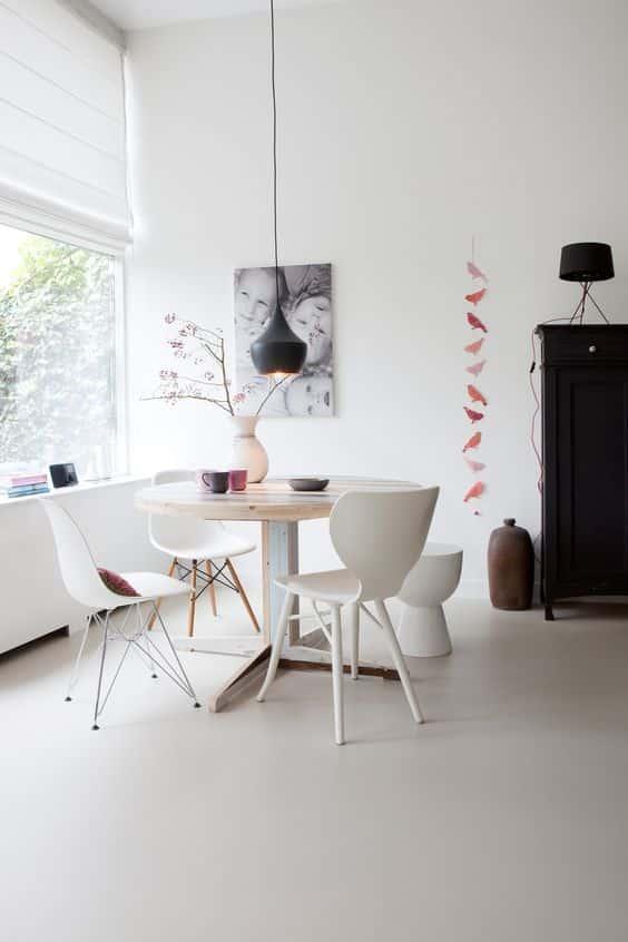 colore bianco in casa