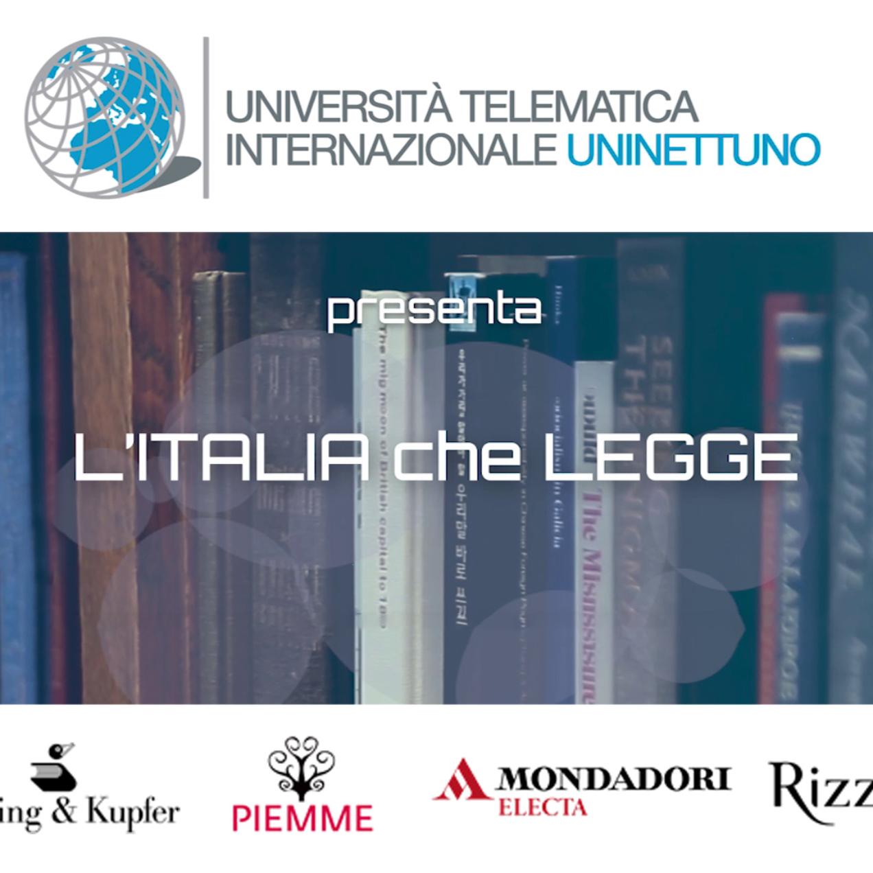 """L'Università UNINETTUNO lancia l'iniziativa """"L'Italia che legge"""""""