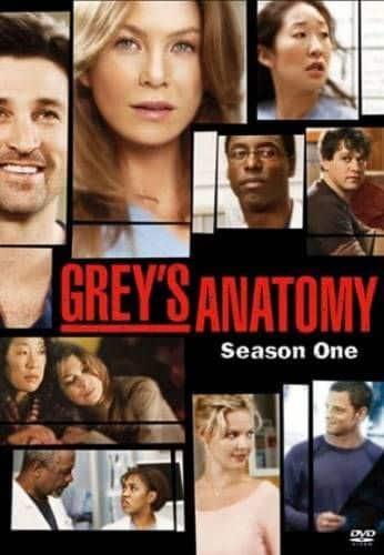 Il poster della prima stagione di Grey's Anatomy