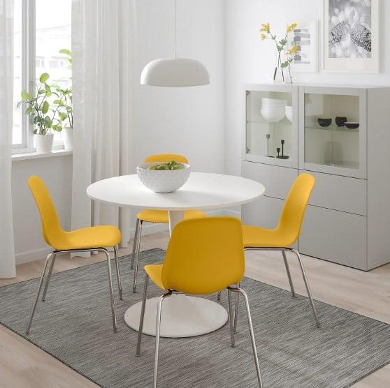 Tavoli Ikea Rotondi Quadrati Allungabili E A Ribalta Trova Il Tuo Stile