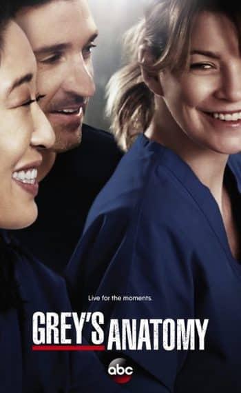 Il poster della decima stagione di Grey's Anatomy