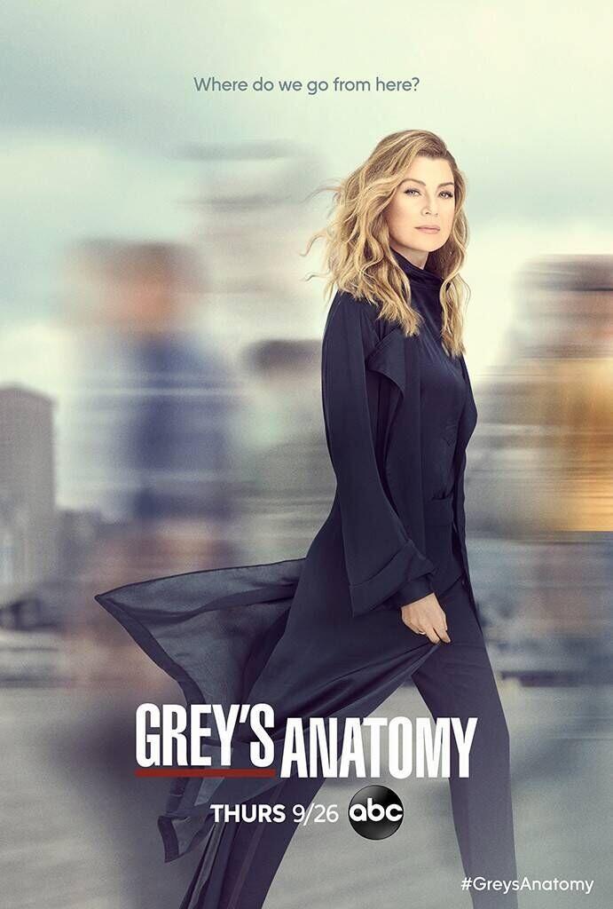 Il poster della sedicesima stagione di Grey's Anatomy