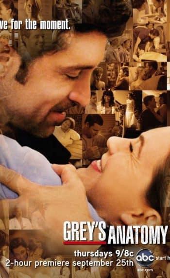 Il poster della quinta stagione di Grey's Anatomy