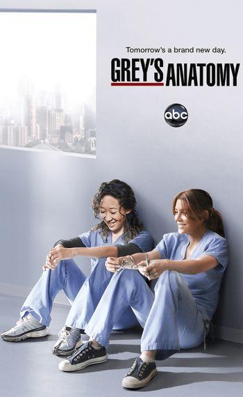 Il poster dell'ottava stagione di Grey's Anatomy