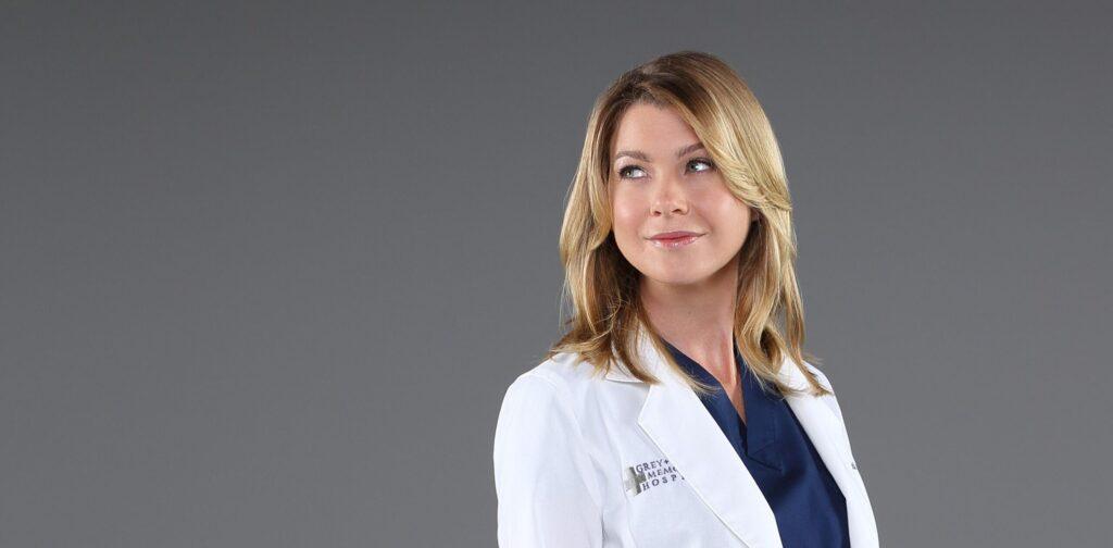 Ellen Pompeo nel ruolo di Meredith Grey