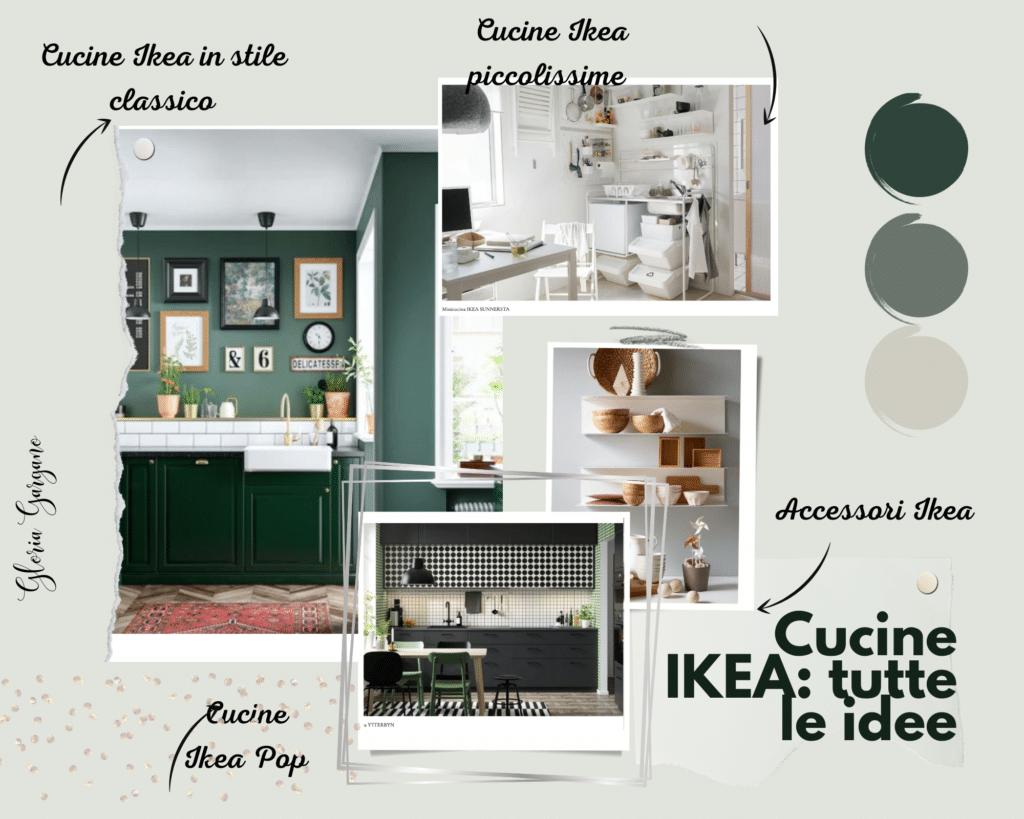 Moodboard cucine Ikea