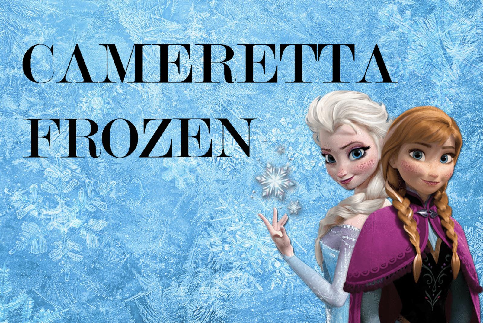 cameretta di Frozen