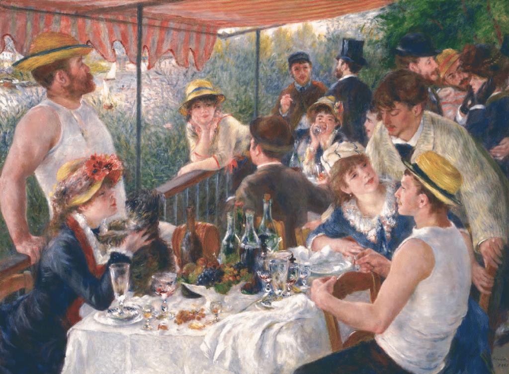 La colazione dei Canottieri, Renoir