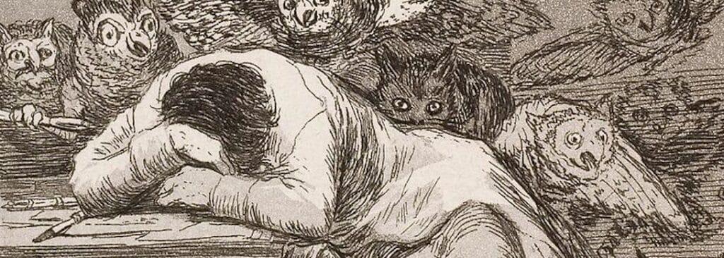 Il sonno della ragione genera mostri - Francisco Goya