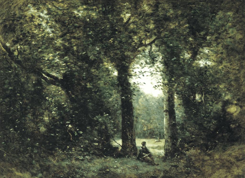 La radura, ricordo di Ville d'Avray, Camille Corot