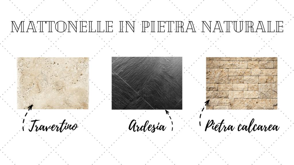mattonelle in pietra naturale