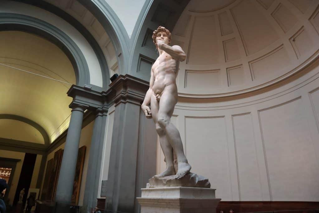 David di Michelangelo altezza