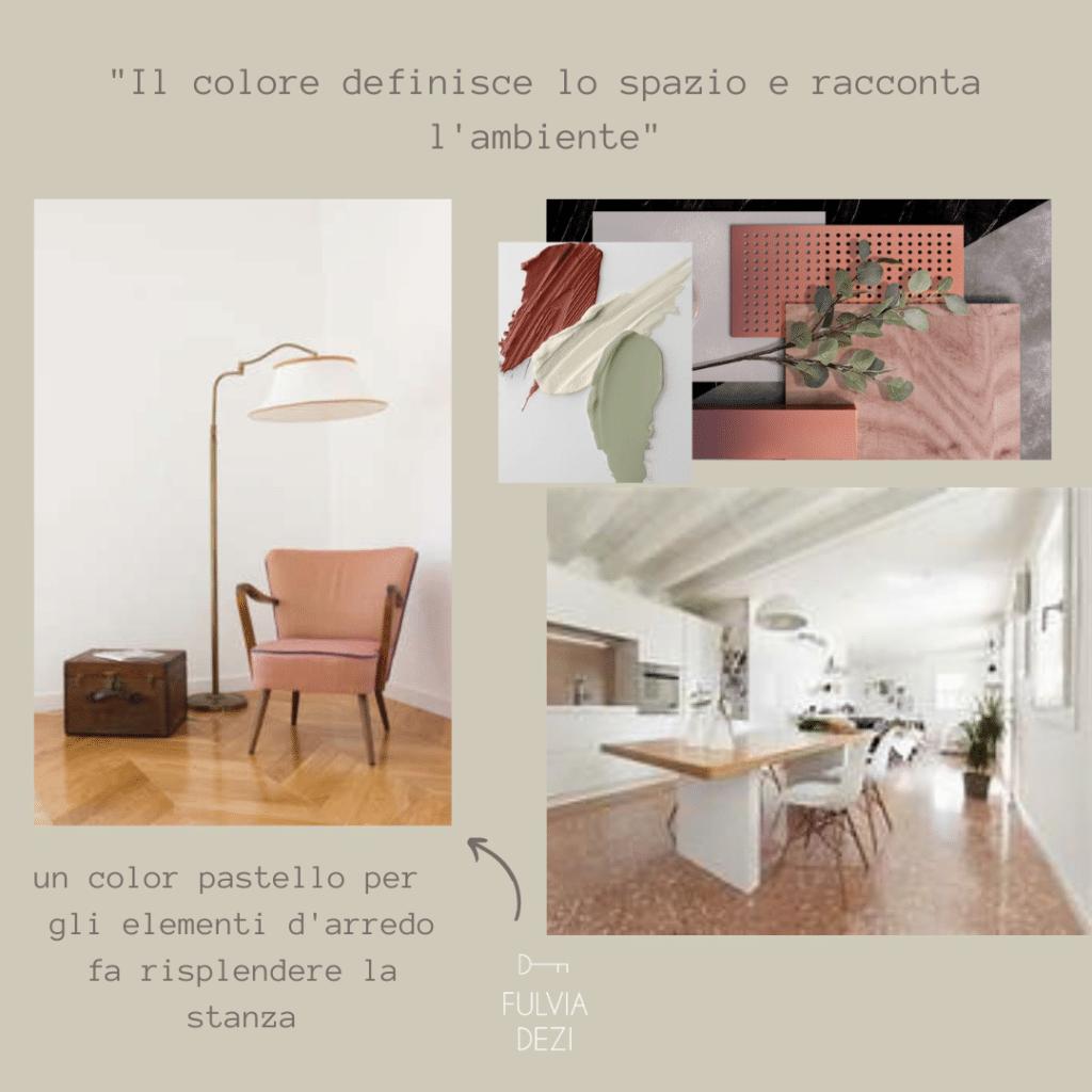 colori pastello per arredare il soggiorno piccolo