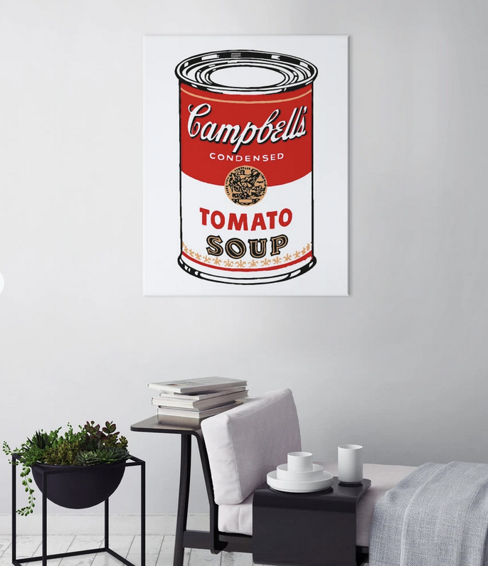 Campbell's Soup di Andy Warhol,