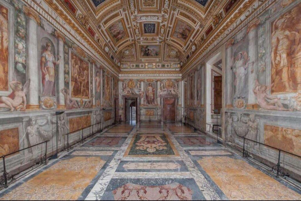 Sala Paolina Castel Sant'Angelo